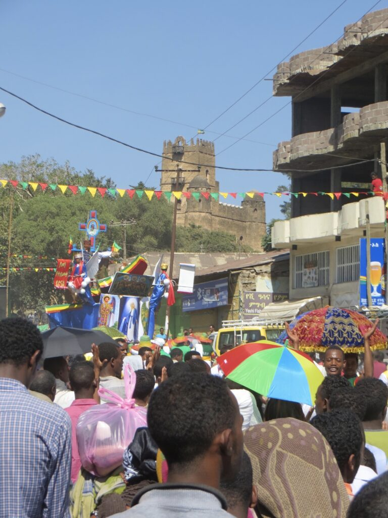 Gondar is an Ethiopian Orthodox Christian majority place