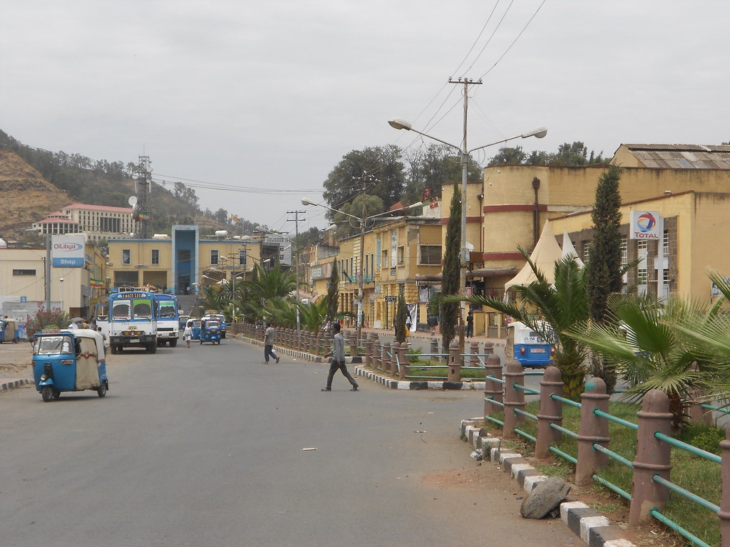 "The Center of Gondar, known as ""Piassa"""